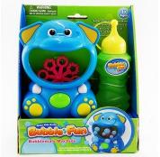 Мыльные пузыри Bubble Fun Машинка для пускания мыльных пузырей Слоник
