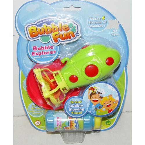 Мыльные пузыри Bubble Fun Набор для пускания мыльных пузырей Подводная лодка