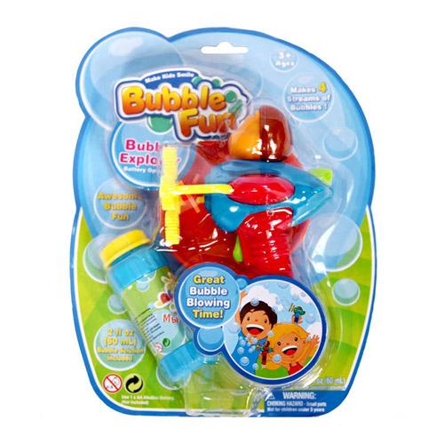 Мыльные пузыри Bubble Fun Набор для пускания мыльных пузырей Самолет