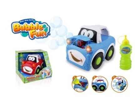 Мыльные пузыри Bubble Fun Машинка, пускающая мыльные пузыри