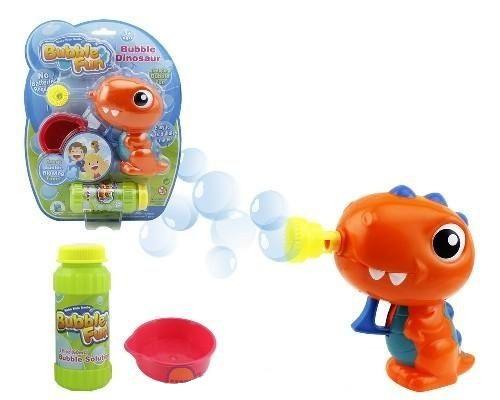 Мыльные пузыри Bubble Fun Набор для пускания мыльных пузырей Динозаврик