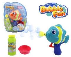 Мыльные пузыри Bubble Fun Набор для пускания мыльных пузырей Рыбка