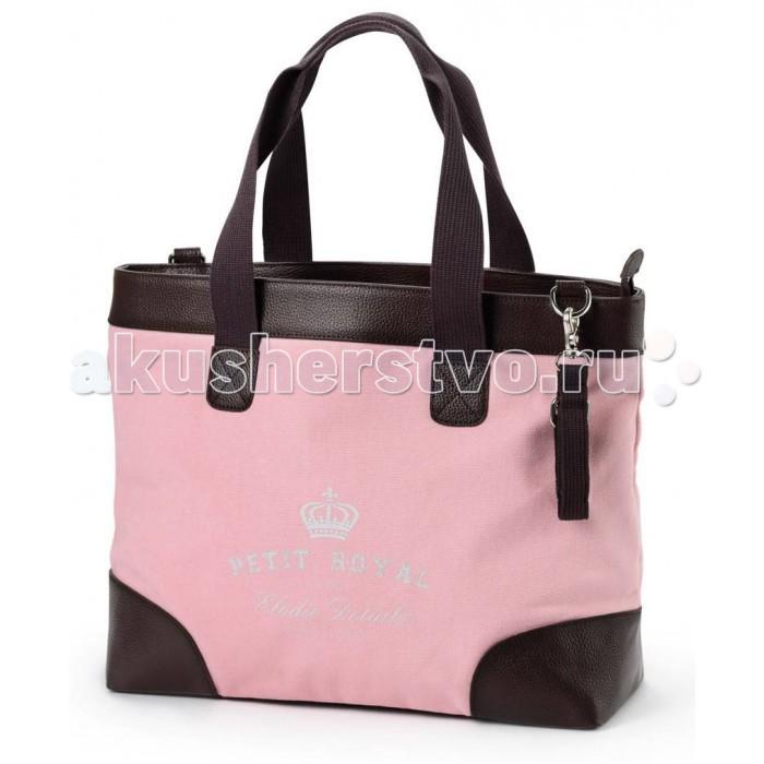 Elodie Details Сумка Petit Royal PinkСумка Petit Royal PinkСумка Elodie Details Petit Royal Pink  Эффектная сумка подойдет на все случаи жизни: для походов в магазин или гости, будет незаменима в поездках и на прогулках с ребенком. Стильный и практичный аксессуар.   в комплект входит матрасик для пеленания, крепления для коляски и съемный плечевой ремень  удобные крепления позволяют легко повесить сумку на ручку коляски  объемные наружные карманы вмещают все необходимые мелочи  предусмотрены внутренние термо-карманы для бутылочки с детским питанием  прочность и размер сумки позволяют носить ноутбук  детали сумки выполнены из натуральной кожи  размеры: 42 х 37 х 15 см   Коляски, конверты, нагрудники, клипсы для пустышек, сумки для мам – все это необходимые вещи повседневной жизни мамы и ребенка. Шведская компания Elodie detalis создает эти предметы уникальными и неповторимыми. Превосходное качество, стиль и практичность сделали компанию популярной во всем мире.   Elodie Details - это способ сделать повседневную жизнь более красивой и веселой!<br>