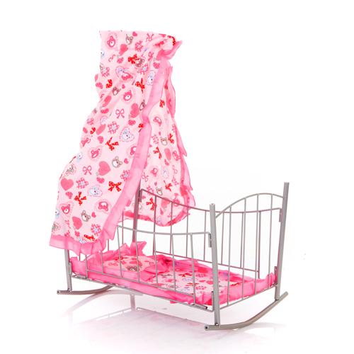 Кроватка для куклы Melobo с балдахином 9349 от Акушерство