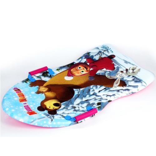 Ледянка Играем вместе с ручками Маша и Медведь