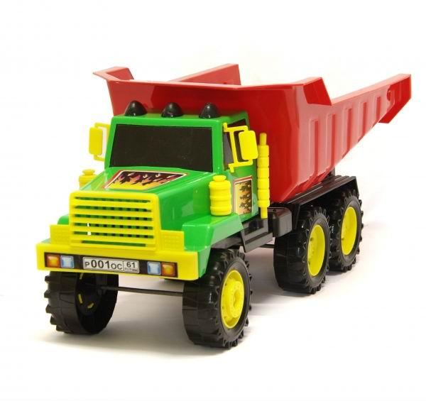 Каролина-М Автомобиль СамосвалАвтомобиль СамосвалЯркий грузовик Самосвал 40-0003 станет хорошим подарком для вашего мальчика.   Такой мощный грузовик обязательно придется по вкусу вашему малышу. С ним он может перевозить всевозможные игрушки и другие принадлежности в парке, саду или песочнице: ведь его кузов очень и очень внушительных размеров!   С детским самосвалом ваш малыш почувствует себя настоящим строителем. Машинка может перевозить песок, камни и многие другие строительные материалы. С такой замечательной игрушкой можно играть как дома, так и брать с собой на улицу. Самосвал изготовлен из качественных и прочных материалов. Ваш мальчик обязательно порадуется такой чудесной машине.  Игрушка, выполненная в ярких цветах, обладает особой прочностью. Не стоит опасаться, что она развалится в руках после нескольких часов наедине с ребенком. Такой подарок доставит малышу множество увлекательных часов.<br>