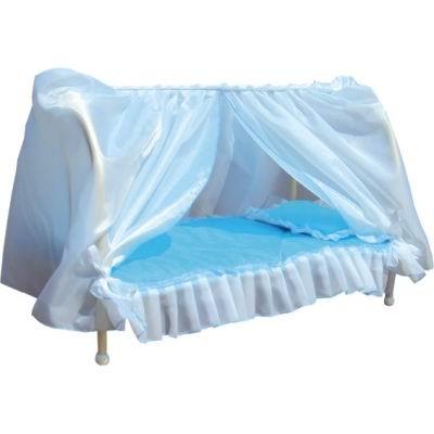 Игрушечные кроватки Фея с балдахином КР-120