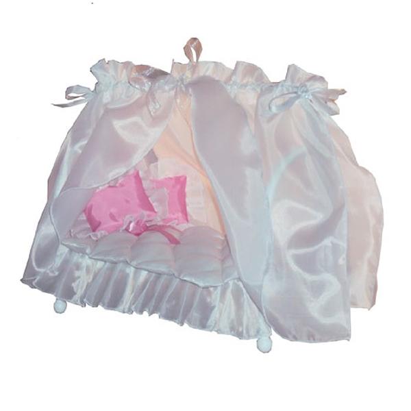 Игрушечные кроватки Фея с балдахином КР-180