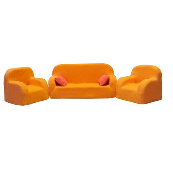Игрушечные кроватки Фея Диван+два кресла КР-420