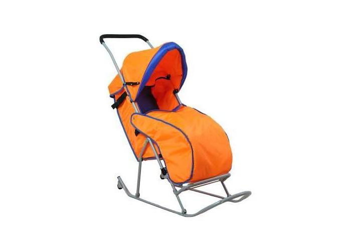 Санки-коляска Фея Метелица Люкс 1 с тентом