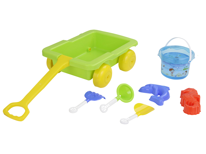 Pilsan Песочный набор 6 предметовПесочный набор 6 предметовЭтот чудесный набор можно использовать для игр с песком во дворе, в парке, на пляже, у воды.  Игрушка отлично развивает логическое мышление и стимулирует воображение.  Набор для игры в песочницы из 6 предметов, для детей от 3 до 8 лет.<br>