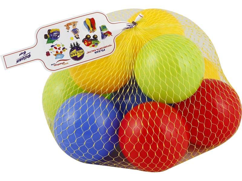 Pilsan Шары в сухой бассейн 90 мм 10 шт.Шары в сухой бассейн 90 мм 10 шт.Шары в сухой бассейн Pilsan 90мм (10шт) - подойдут для наполнения надувных бассейнов, игровых домиков и детских манежей.   В набор входит 10 разноцветных ярких шариков, выполненных из высококачественного пластика.   С этими шариками можно играть и в бассейне с водой.   Кроме того, они помогут изучить формы, цвета, свойства предметов.<br>