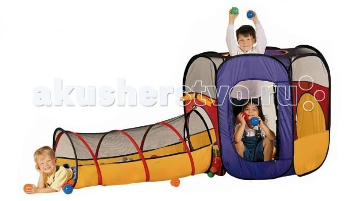 Edu-Play Палатка с туннелем Время джунглей