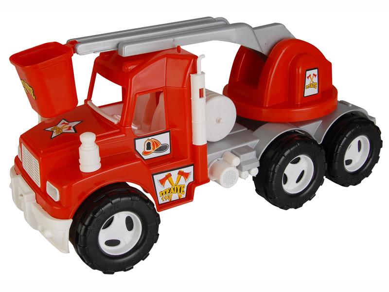 Pilsan Пожарная машинаПожарная машинаПожарная машина Pilsan - прекрасная игрушка для ребенка. Яркая пожарная машинка привлечет внимание любого малыша.   Машинка сделана почти как настоящая - три пары массивных колес, ведерко для тушения пожара и специальные знаки - всё это позволит малышу почувствовать себя настоящим пожарным. Машинкой можно играть как дома, так и на улице. Она поможет малышу развить образное мышление и координацию движений.  Модель имеет большие рельефные пластиковые колеса, которые отличаются легким ходом даже по песку.  Выполнена в ярких и красочных цветах. Управляемая лестница. Материал: прочный пластик. Размеры: 23х55х26 см.  Компания Pilsan начала свою историю в 1942 году. Сегодня – это компания-гигант индустрии крупногабаритных детских игрушек, которая экспортирует свою продукцию в 57 стран мира. Компанией выпускается 146 наименований продукции – аккумуляторные и педальные автомобили, велосипеды, развивающие игрушки и аксессуары для детей. Вся продукция Pilsan сертифицирована и отвечает международным стандартам качества.<br>