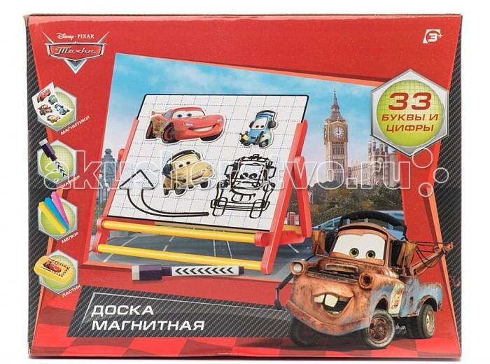 Играем вместе Двусторонняя магнитная доска Тачки (Disney) Двусторонняя магнитная доска Тачки (Disney) HM1126A-RC