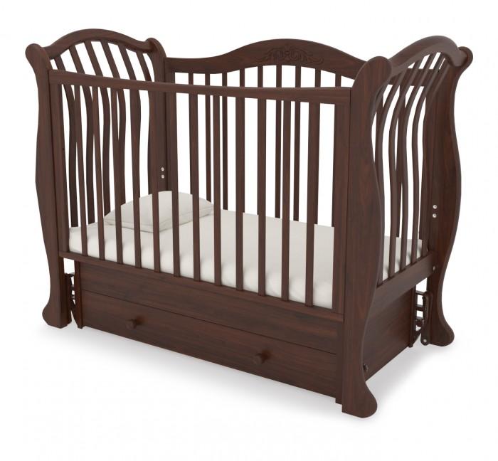 Детская кроватка Гандылян Габриэлла люкс ( универсальный маятник)