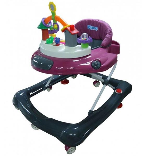 Ходунки Pituso Самолетик AviСамолетик AviЯркие веселые ходунки Самолетик развлекут Вашего ребенка и помогут научить делать первые шаги.  Характеристики:  8 силиконовых колес вращаются на 360 гр. тормозные фиксаторы 2шт. обеспечивают максимальную безопасность ребенка регулировка по высоте в трех положениях звуковая-игровая панель ортопедическая спинка съемный чехол, можно при необходимости постирать легко и компактно складываются  Максимальный вес: до 13 кг  Возраст: от 6 месяцев  Размер: 62х13х65.5 см<br>