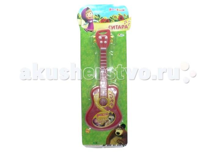 Музыкальная игрушка Играем вместе Гитара Маша и медведь