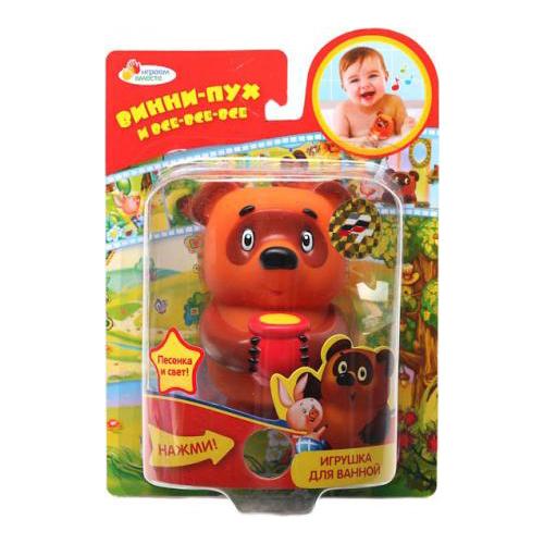 Играем вместе Игрушка для ванной Винни-ПухИгрушка для ванной Винни-ПухИгрушка для ванной Играем вместе Винни-Пух - это игрушка для ванны, которая понравится любому ребенку. Она изготовлена из качественных материалов и имеет яркую расцветку. Купание с такой игрушкой доставит удовольствие вашему малышу.<br>