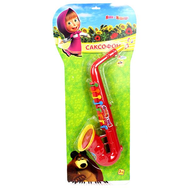 Музыкальная игрушка Играем вместе Саксофон Маша и медведь