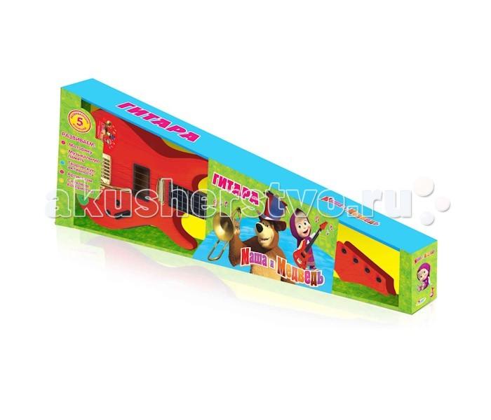 Музыкальная игрушка Играем вместе Электрогитара Маша и медведь