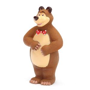 Играем вместе Игрушка для ванной МедведьИгрушка для ванной МедведьИгрушка для купания Играем вместе Медведь непременно понравится вашему ребенку и превратит купание в веселую игру!   Игрушки выполнены из безопасного ПВХ.  Если сжать игрушки, раздастся веселый писк.  Оригинальный стиль и великолепное качество исполнения делают этот набор чудесным подарком к любому празднику, а жизнерадостные образы представят такой подарок в самом лучшем свете.<br>