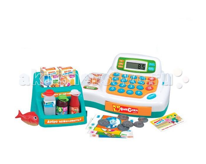 Фиксики Касса-магазин GT8216Касса-магазин GT8216Фиксики Касса-магазин с 4 функциями и 19 предметами.  Девочки с удовольствием станут маленькими продавцами. Благодаря таким игрушкам дети готовятся к будущей жизни. Работает с помощью батареек.   Для игры в этом наборе предусмотрено все : есть касса, набор продуктов и даже деньги.<br>