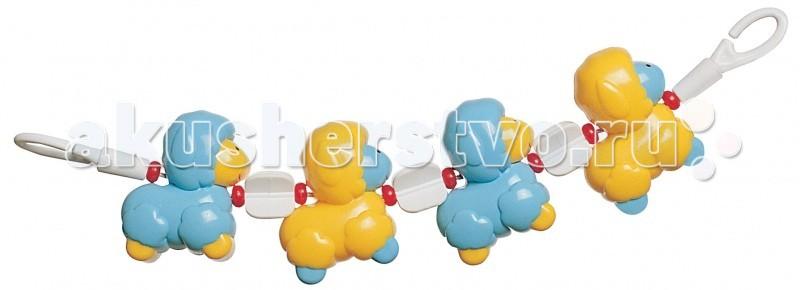 Canpol Погремушка на коляску Овечки 2/601Погремушка на коляску Овечки 2/601Погремушка на коляску Овечки Canpol 2/601.  Эта красочная пластмассовая погремушка крепится на коляску и делает ежедневные прогулки более интересными.  Разнообразные формы и цвета стимулируют развитие малыша.   Фигурки легко хватать маленькими пальчиками, что способствует развитию мелкой моторики ребенка.   Погремушка также может крепиться на кроватку.<br>