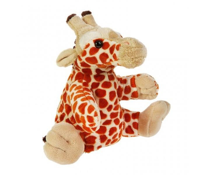 Gulliver Рукавичка-жираф 27 смРукавичка-жираф 27 смМягкая игрушка на руку Gulliver рукавичка-жираф - это забавная игрушка на руку, которая создана для детей старше 3 лет.   Она изготовлена из качественных материалов, которые абсолютно безвредны для ребенка.  Милый щенок обязательно понравится вашему малышу, ведь с его помощью можно разыграть целое представление.  Игрушка способствует развитию воображения и тактильной чувствительности у детей.  Высота: 27 см<br>