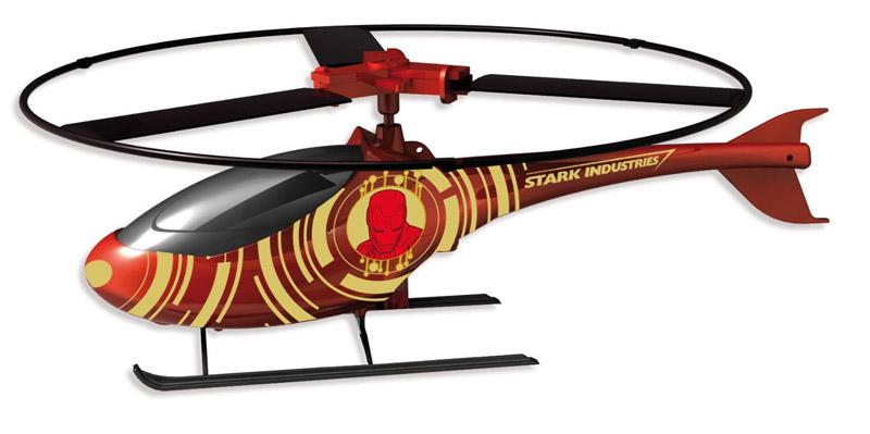 IMC toys Marvel Вертолет Iron man с пускателем