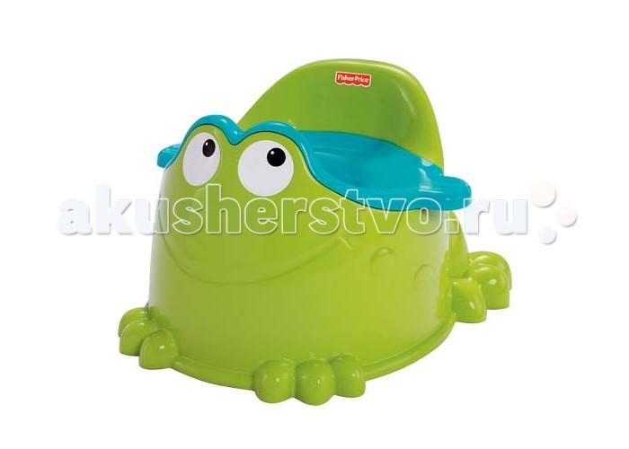 Горшок Fisher Price Mattel Зеленая лягушка