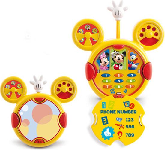IMC toys Телефон Mickey Mouse со светом и звукомТелефон Mickey Mouse со светом и звукомIMC toys Disney Телефон Mickey Mouse со светом и звуком - игрушка оснащена световыми и звуковыми эффектами, для более увлекательной игры.   Поговори с Микки и его друзьями по этому мобильного телефона.   В нем есть номера всех друзей Микки Мауса!<br>