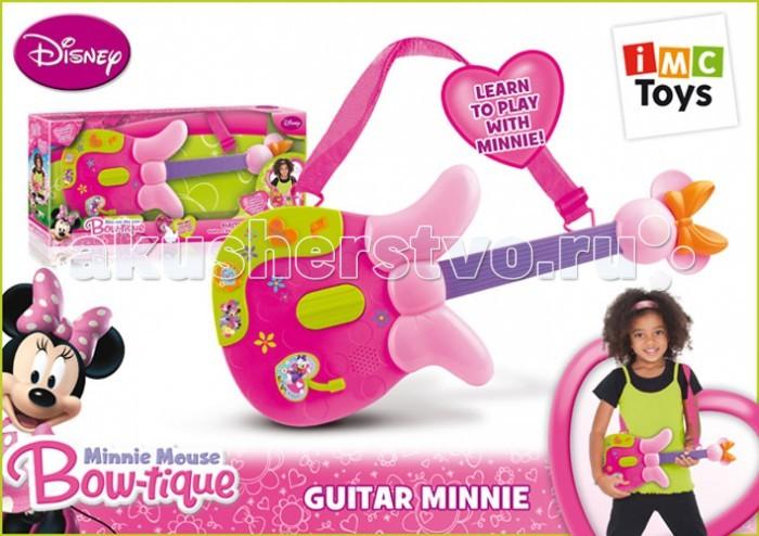 Музыкальная игрушка IMC toys Гитара Minnie на батарейках