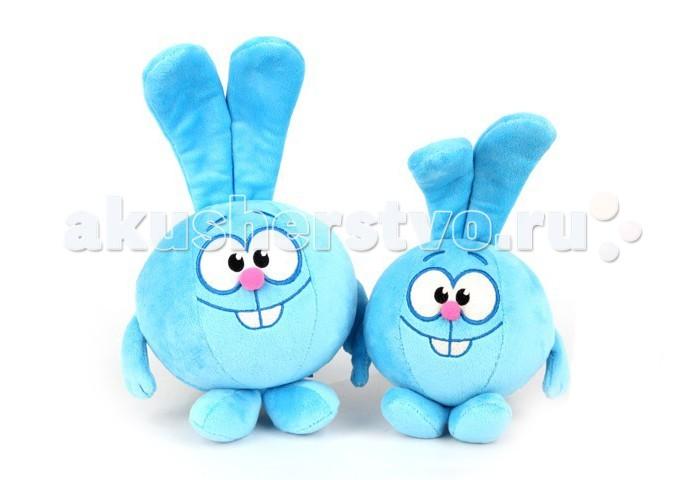 Мягкая игрушка Смешарики Крош K25206B2 12 смКрош K25206B2 12 смМягкая игрушка Смешарики Крош озвученный - великолепный выбор для Вашего малыша!   Состав: текстильные материалы, искусственный мех, в том числе с элементами из пластмассы, с комбинированной набивкой из полиэфирных волокон и пластмассовых гранул.  Игрушку нельзя подвергать химической чистке.  Высота: 12 см<br>