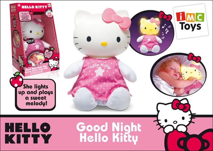 IMC toys Котенок Hello Kitty со светом и звуком