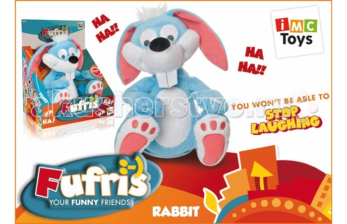 Интерактивная игрушка IMC toys Кролик Забавные друзья