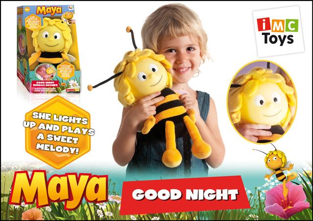 IMC toys Пчелка MayaПчелка MayaIMC toys Пчелка Maya - станет лучшим другом для вашего малыша, ведь она не только полезный ночник, но и красивая игрушка. Особенно такая игрушка понравится маленьким непоседам, которые не любят вовремя ложиться спать, так как перед сном она споет ребенку колыбельную, и Ваш малыш почти сразу же уснет.  Ночник работает от 6-и батареек вида AA.<br>
