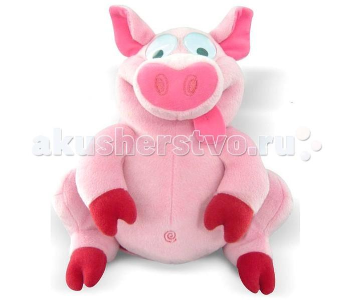 Интерактивная игрушка IMC toys Свинка Забавные друзьяСвинка Забавные друзьяIMC toys Свинка Забавные друзья - игрушка умеет очень задорно смеяться, ее задорный настрой передается всем, кто находится рядом с ней. Нажмите свинке на лапку, как она начнет хохотать. При повторном нажатии на кнопку, всегда можно остановить смех веселой свинке.<br>
