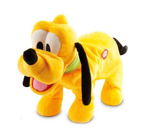Интерактивная игрушка IMC toys Disney Собака Pluto со звукомDisney Собака Pluto со звукомIMC toys Disney Собака Pluto со звуком - привлечет внимание любого ребенка. С таким забавным щенком можно смело засыпать в кроватке или отправляться на прогулку.  Собачка умеет лаять и ходить, чтобы показать как она радуется.   Для работы модели необходимы батарейки.<br>