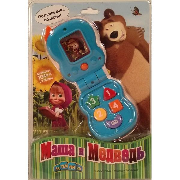 Маша и Медведь Телефон GT6597