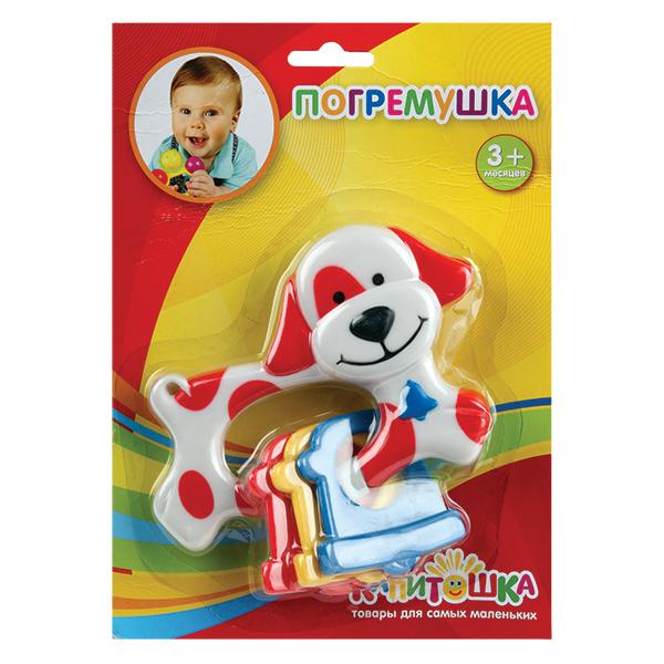 Погремушка Умка СобачкаСобачкаЭта яркая веселая погремушка Умка Собачка добавит радости в ваш дом, который наполнится улыбками вашего малыша.   Он познает мир, изучает цвета, развивает свои осязательные и слуховые чувства восприятия окружающего мира и эта погремушка - верный ему в этом помощник. Сделайте такой полезный подарок вашему ребенку!  Игрушка изготовлена из высококачественных материалов, не токсична и не имеет острых углов.<br>