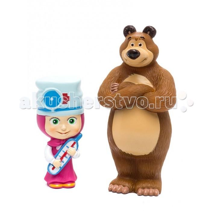 Маша и Медведь Фигурки Маша-доктор и МишкаФигурки Маша-доктор и МишкаМаша и Медведь Фигурки Маша-доктор и Мишка - это замечательный игровой набор для купания, который станет отличным подарком для любого малыша. Красочные фигурки выполнены в виде персонажей мультсериала «Маша и Медведь».   В процессе игры ребенок будет выдумывать различные сюжеты, развивая свое воображение. Все элементы набора изготовлены из высококачественных полимерных материалов.<br>