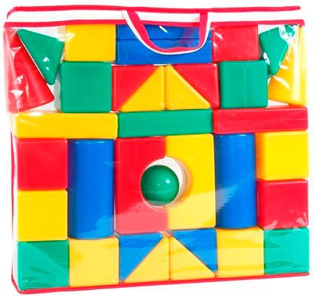 Конструктор Маша и Медведь Давай строить! 34 деталиДавай строить! 34 деталиКонструктор Маша и Медведь Давай строить! - яркий конструктор, который обязательно понравится вашему ребенку.   Особенности: 34 цветных блока разной формы 8 х 8 см позволят вашему ребенку создавать различные сооружения.  Детали конструктора изготовлены из мягкой пластмассы с притупленными краями на гранях.<br>