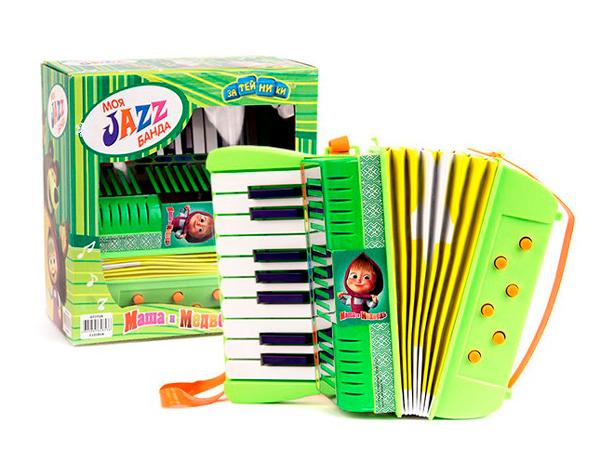 Музыкальные игрушки Маша и Медведь Аккордеон