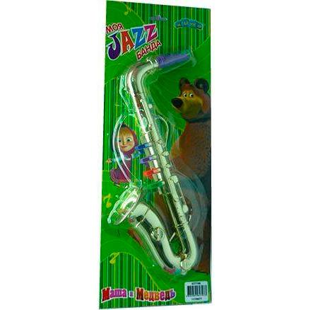 Музыкальные игрушки Маша и Медведь Саксофон