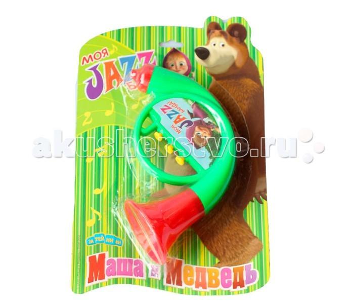 Музыкальная игрушка Маша и Медведь Труба GT5846