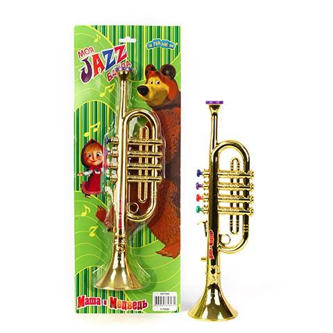 Музыкальные игрушки Маша и Медведь Труба GT7709