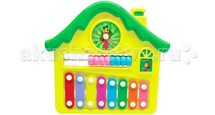 Музыкальная игрушка Маша и Медведь Металлофон