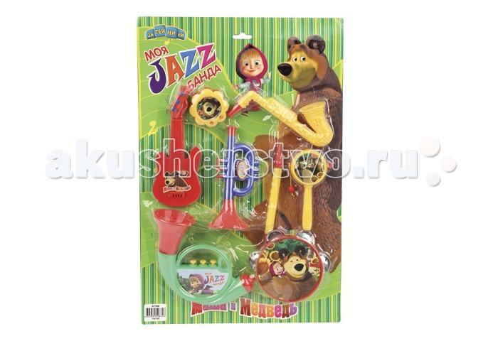 Музыкальные игрушки Маша и Медведь Набор музыкальных инструментов GT7644