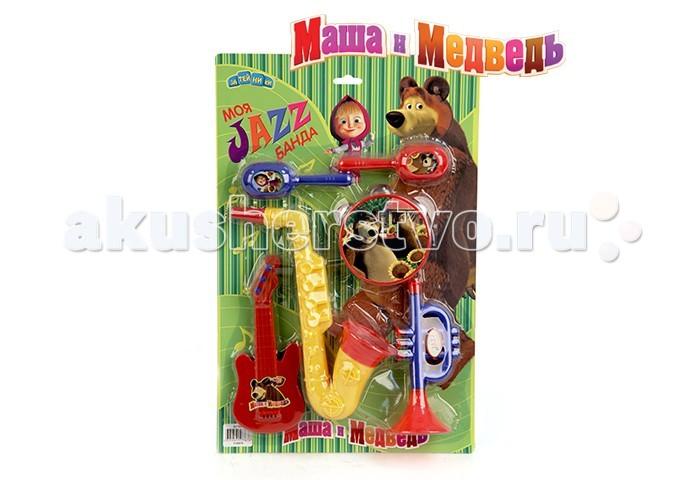 Музыкальная игрушка Маша и Медведь Набор музыкальных инструментов GT7645